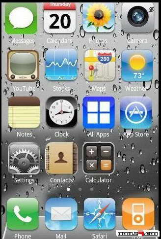 Iphone 4s theme for samsung galaxy y duos download for free toneelgroepblik Images