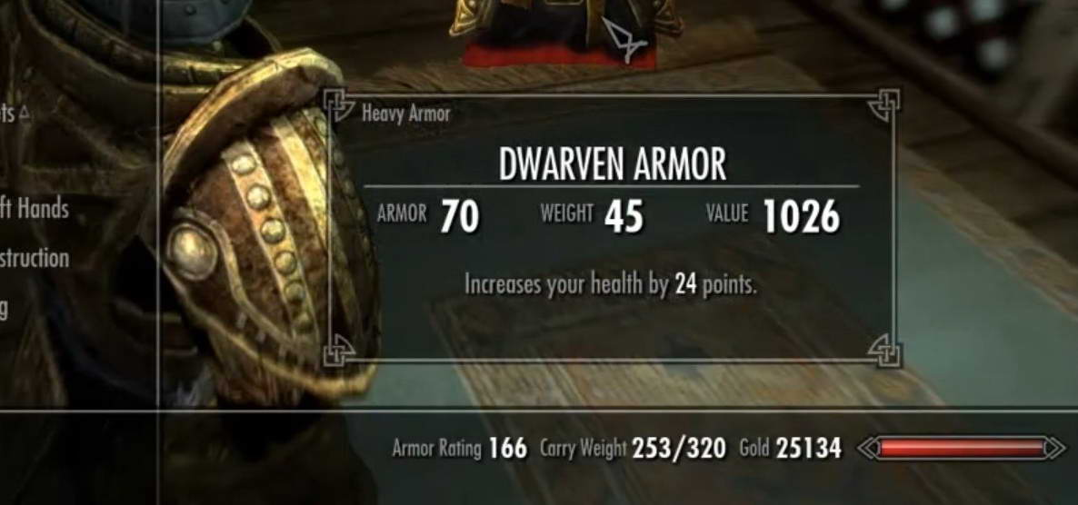 T E S  Skyrim V - How to Enchant Health Points in Armours Guide