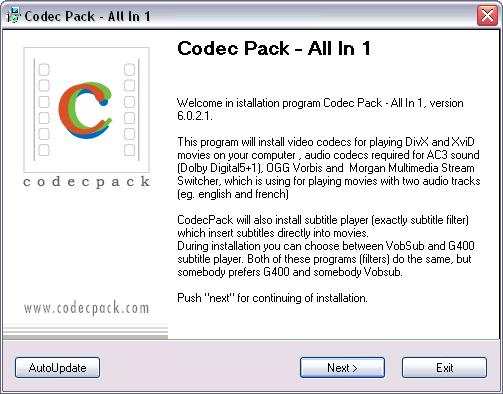 all codec pack download